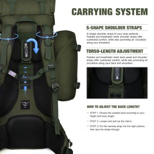 Mardingtop 65+10L Internal Frame Backpack Review