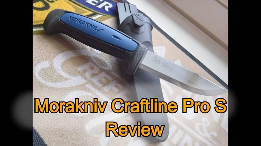 Morakniv Craftline Pro S review