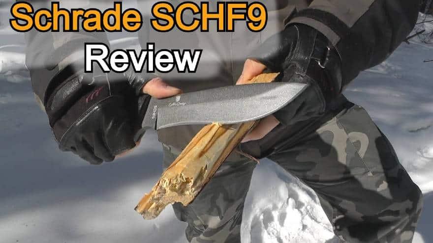Schrade SCHF9 review