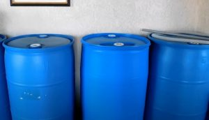 52 gallon water barrel