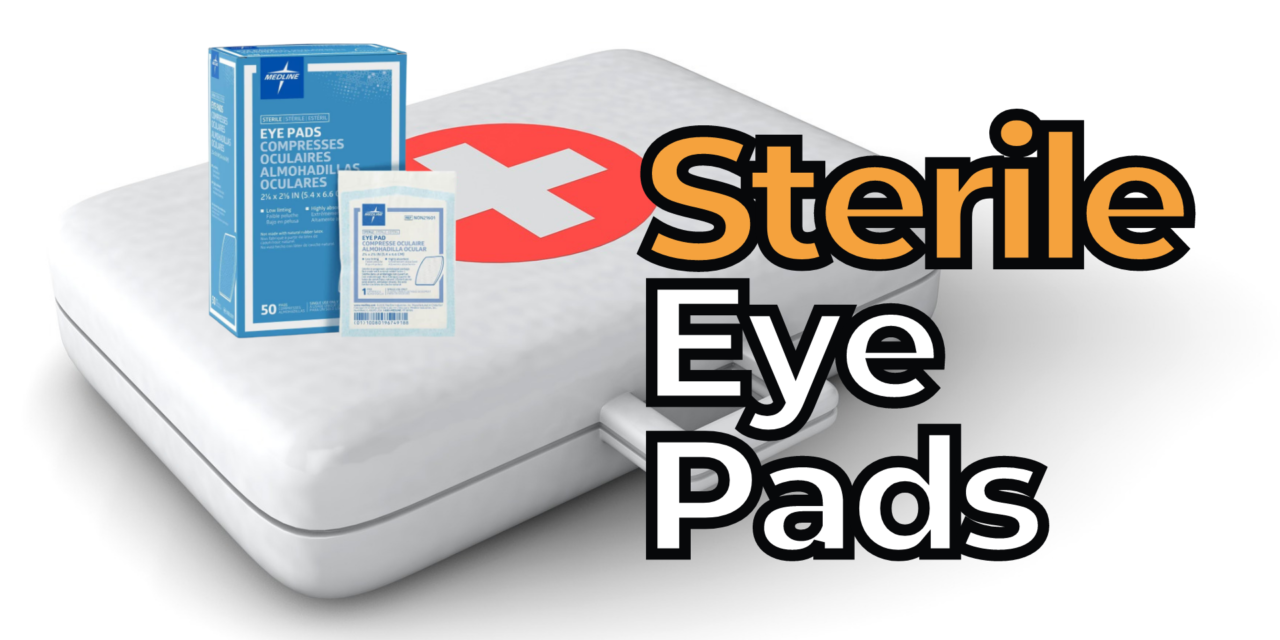 Best Sterile Eye Pads for First Aid Kit