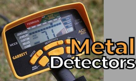5 of the Best Metal Detectors